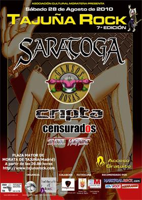 Tajuña Rock 7 Edicion 28 Agosto 2010