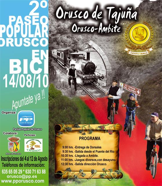 Orusco Carrera Bici
