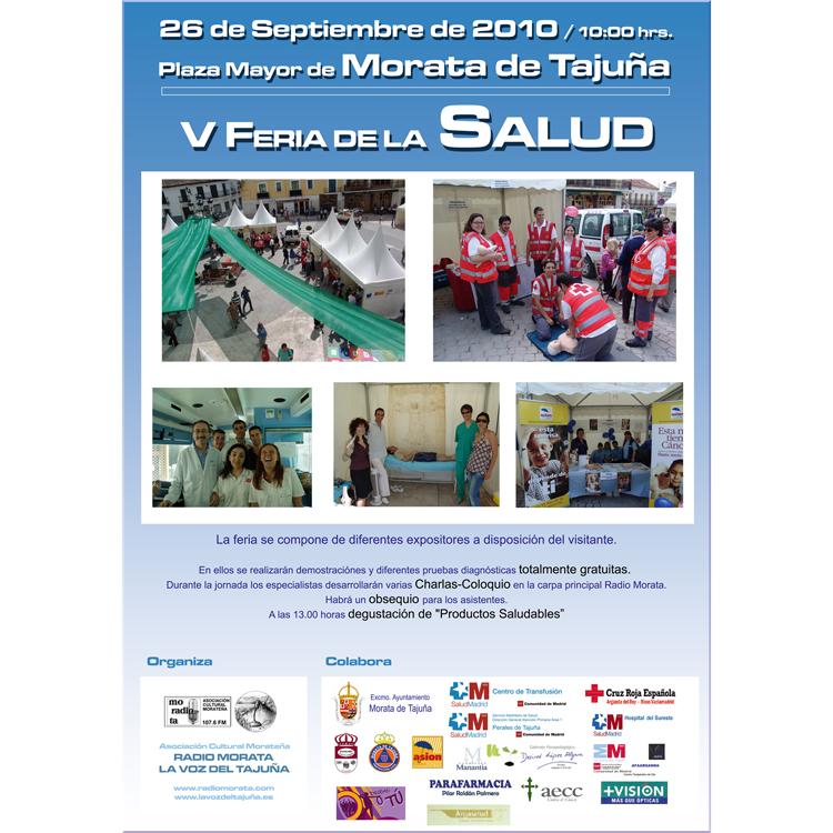 Feria Salud 2010 - Quinta Edicion organizado por la Asoc. Cultural Radio Morata