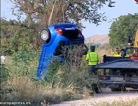 Morata -  Muere un joven al volcar su coche en un río
