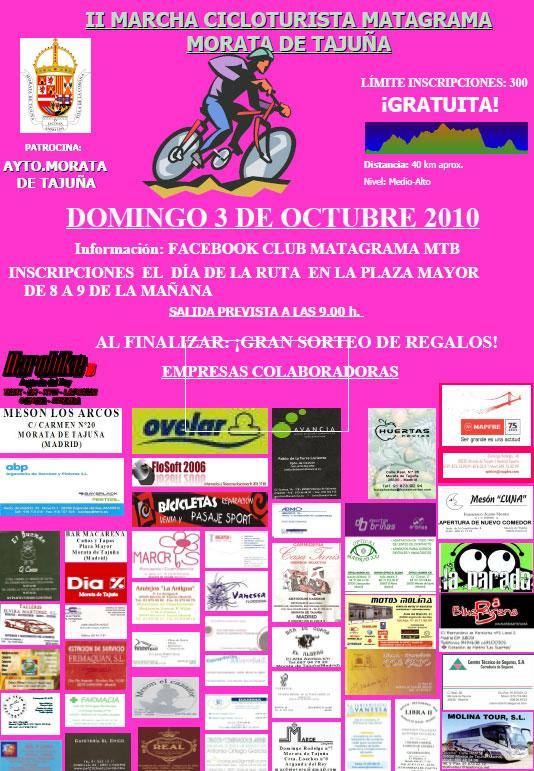 Marcha Cicloturista en Morata