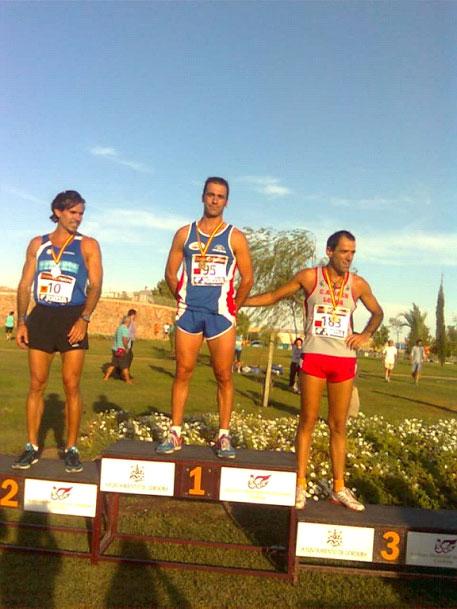 Isidoro León, vecino de Villarejo, Campeón de España de Milla en Ruta