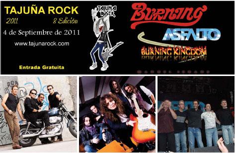 Tajuña Rock VIII Edicion - 4 de Septiembre de 2011 en Morata de Tajuña