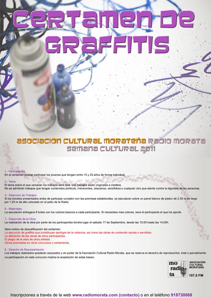 IV Certamen de Gratifis - Actos Semana Cultural 2011 - Bases del Certamen