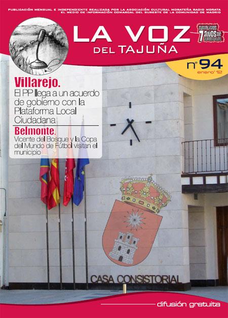 La Voz del Tajuña - Enero 2012