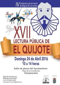 XVII El Quijote 2016
