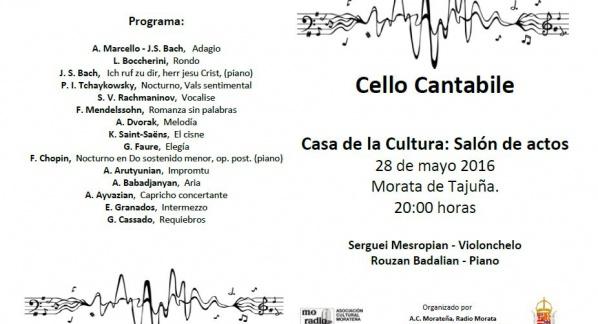 Concierto Jornadas Culturales. Radio Morata